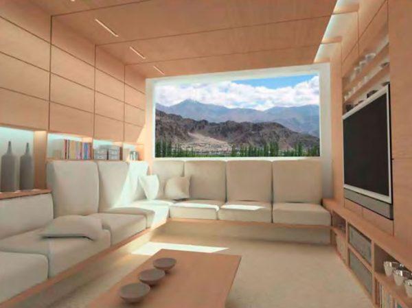 zeroHouse interior