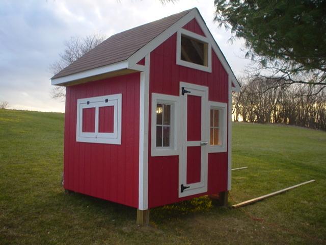 Tiny *Chicken* Houses