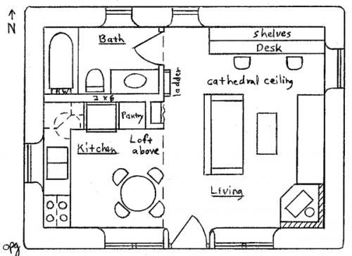 Earthbag House Plans Tinyhousedesign