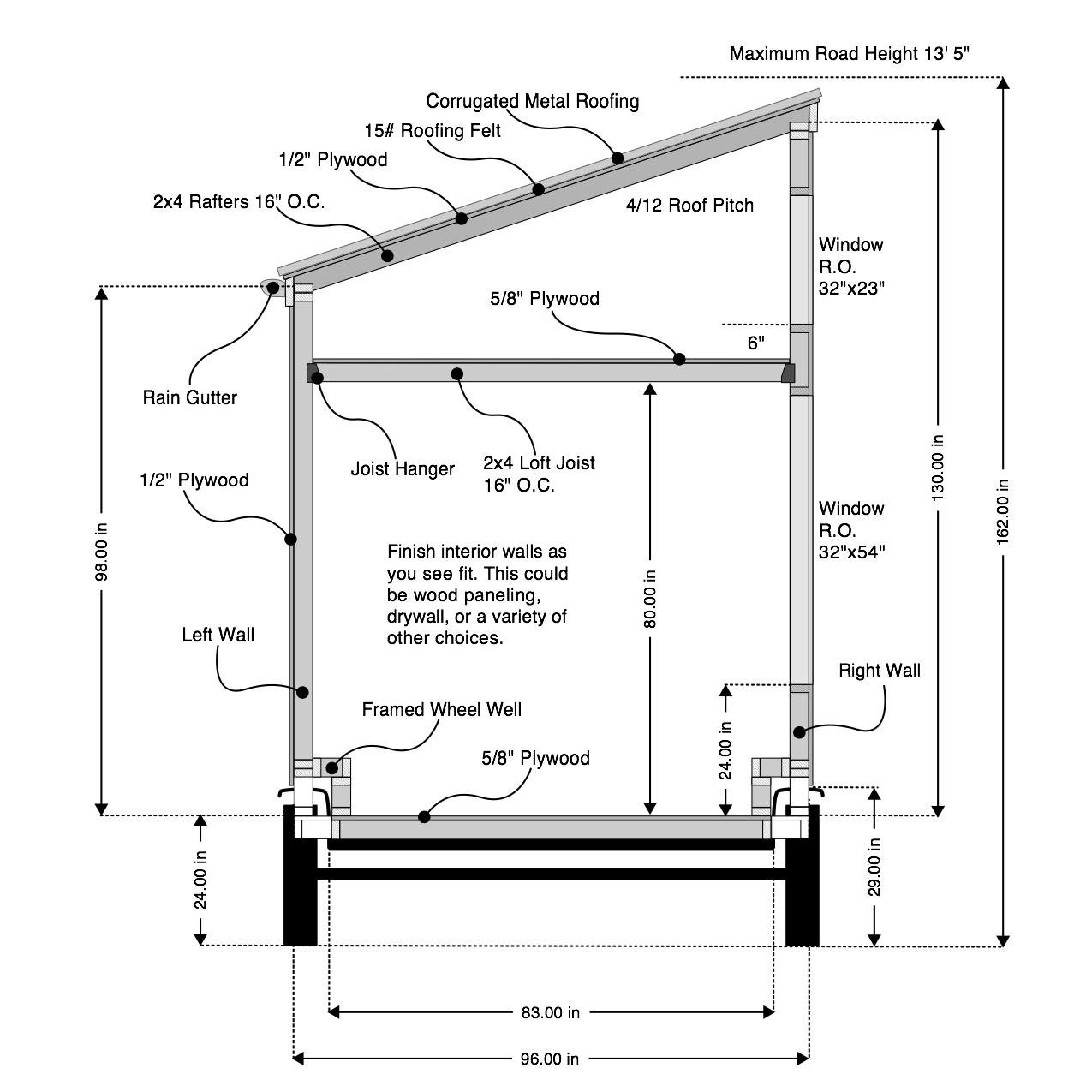 Floor plan · cross section framing1