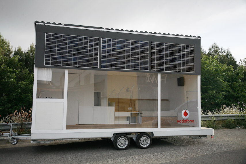 Vodafone Mobile Solar Home