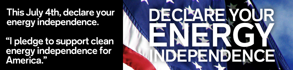 Delare Our Energy Independence