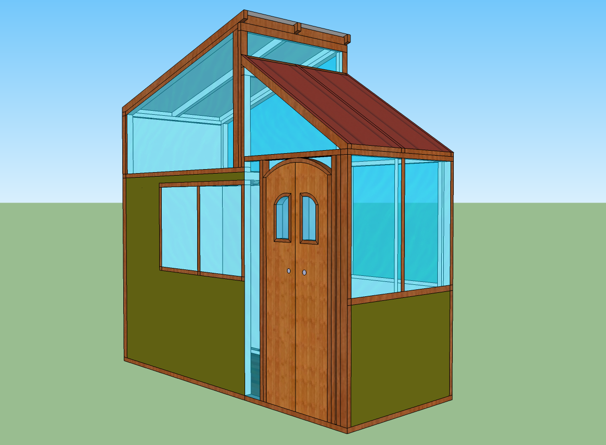 4×12 Tiny House – $ingles Only