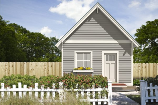Free Green Tiny House Plans Traditional