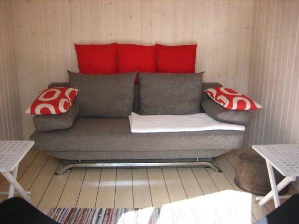 Tool Shed Transforme into tiny house interior