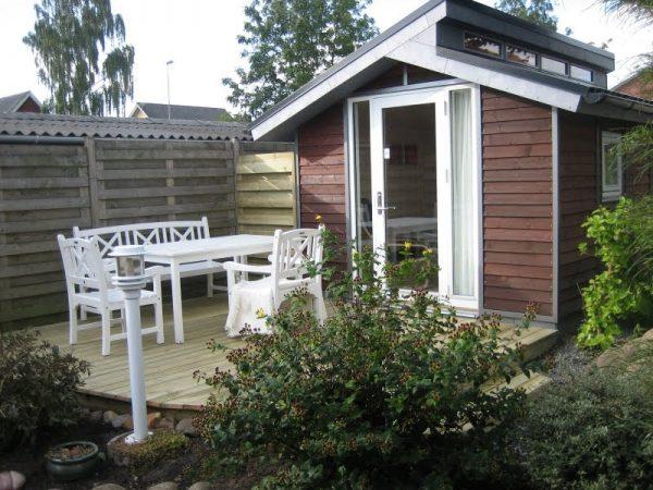 Tool Shed Transforme into tiny house patio