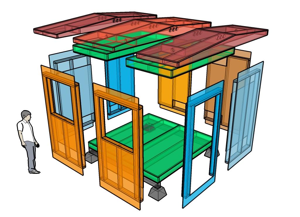 Tiny House Panel System