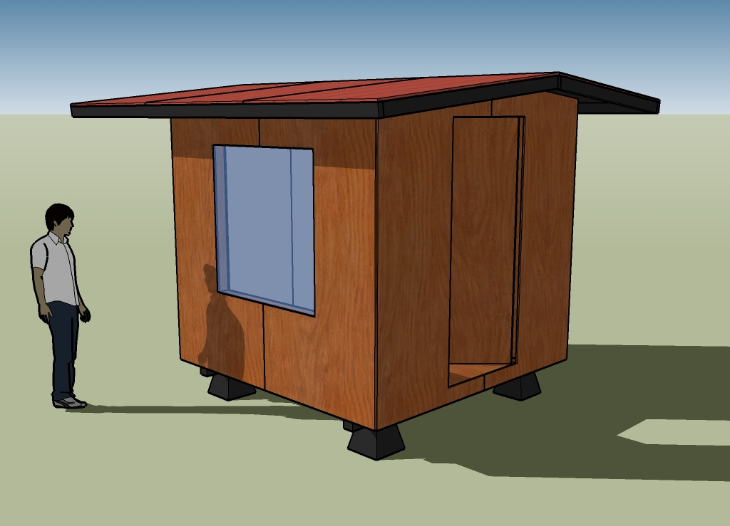 Simple Panelized Shelter