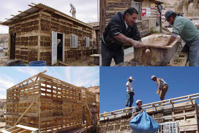World Hands Project – Pallet Houses in Mexico
