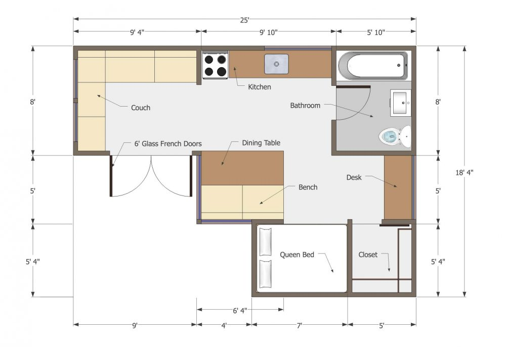 Usonian Inspired Home By Joseph Sandy Tiny House Design