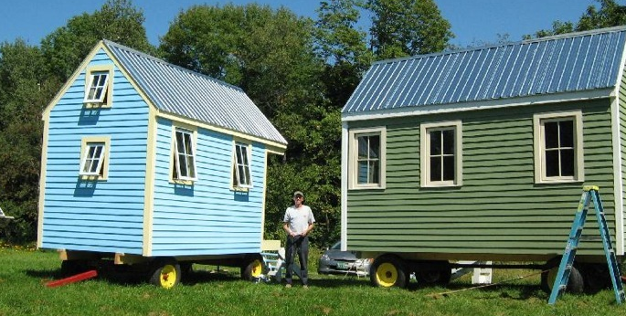 Yes Wee Cabins by Tim Guiles