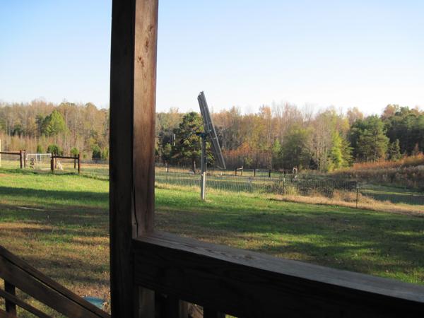 Michael Moore Tiny House Potluck Community Farm view