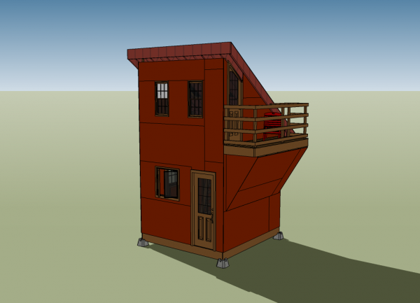 ben tiny house front