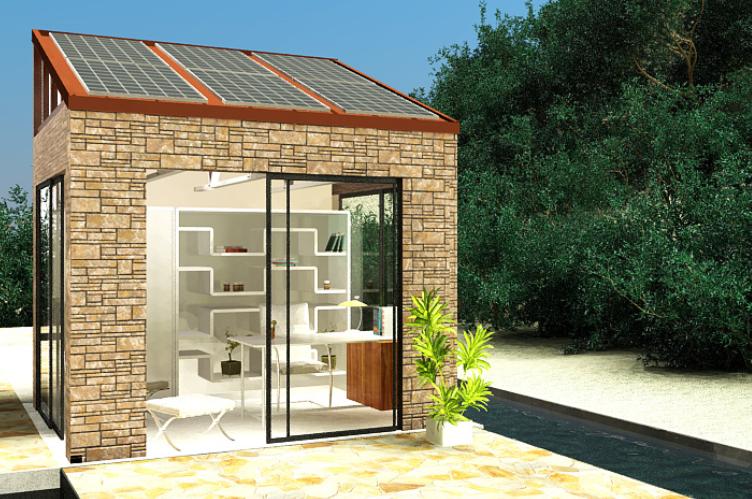 LifePod™ – Solar Backyard Office