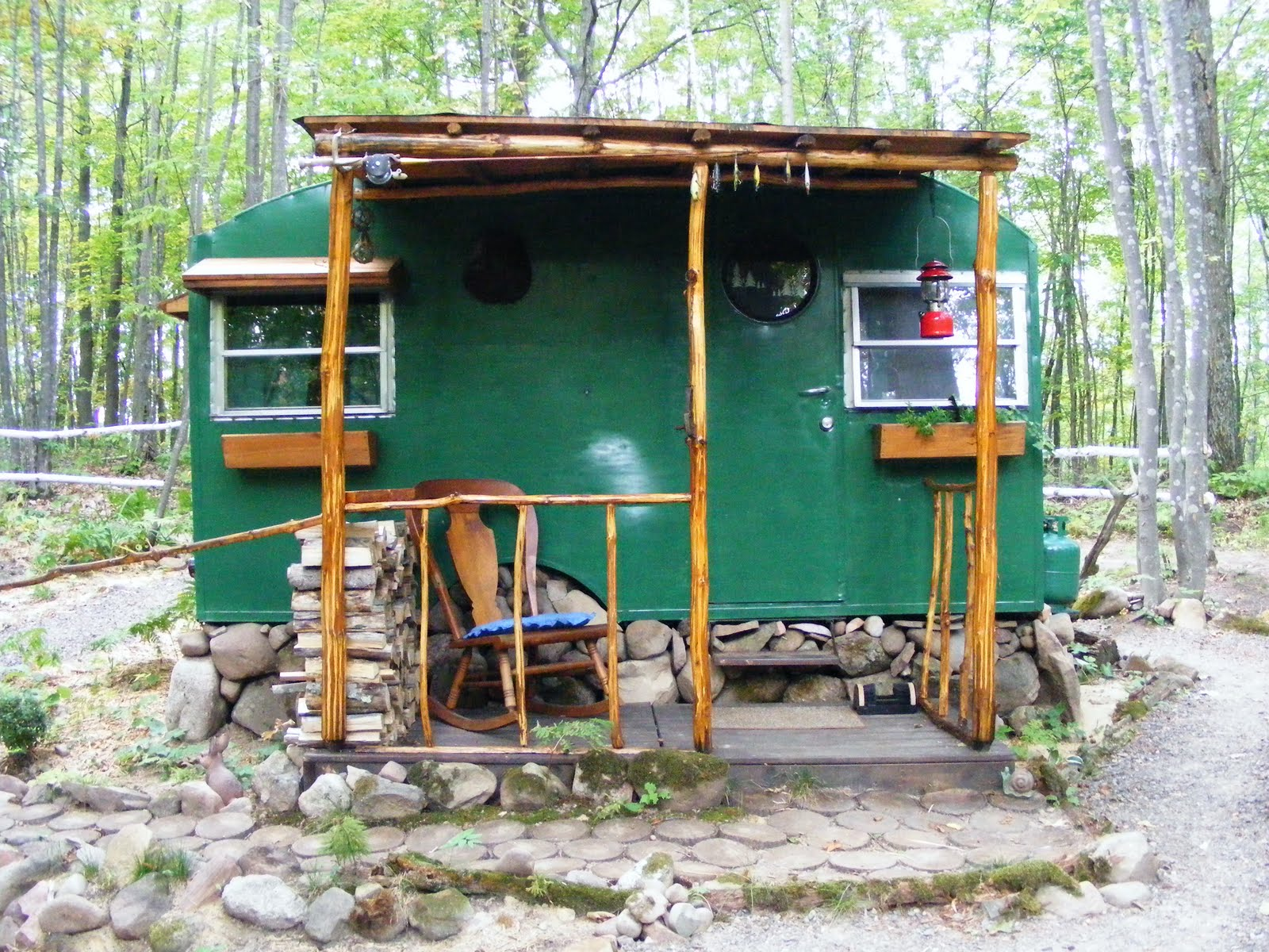 Rick's Tiny House in the Woods