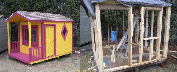 Pallet Playhouse Instructable