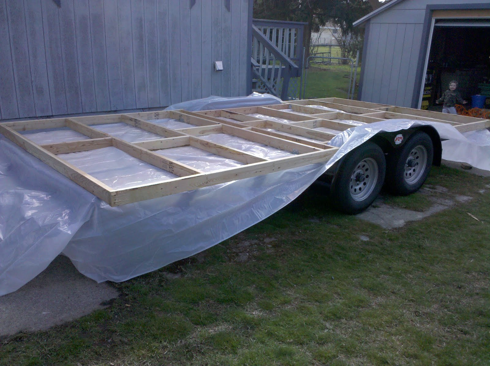 Adam's Tiny Solar House Project Begins