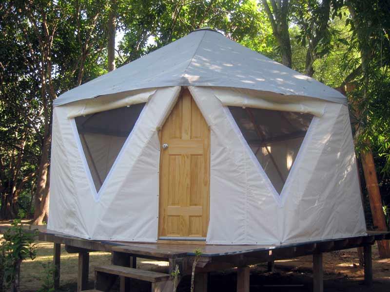 Yome Home – Hybrid Yurt Dome