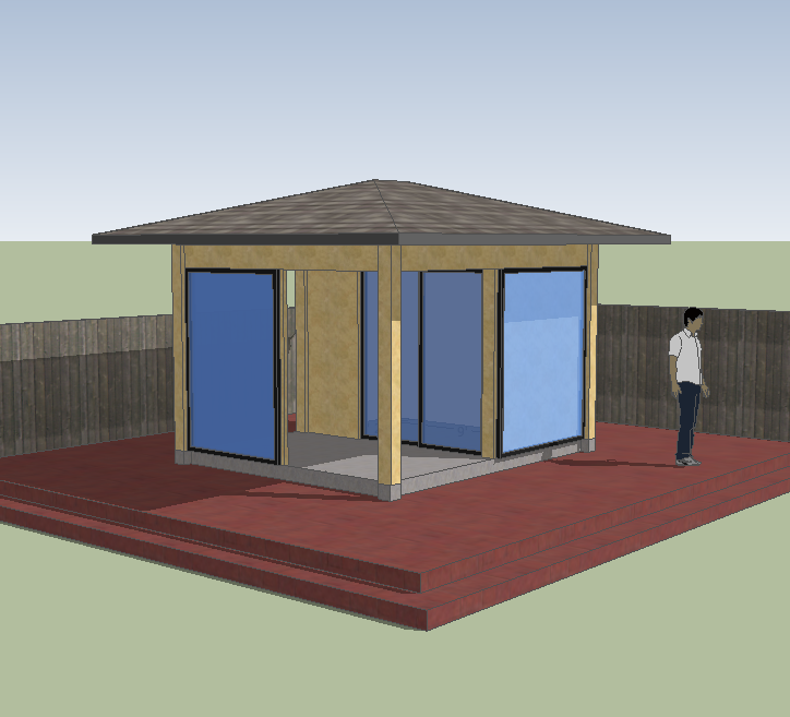 Porch Shed Design Competition Entries