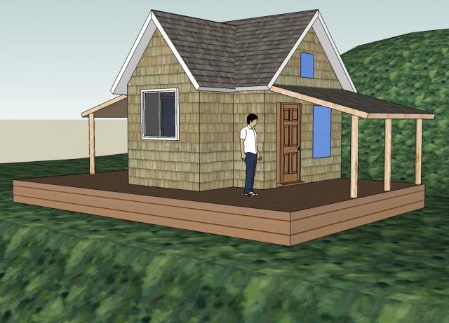 A Cabin for Solar Burrito