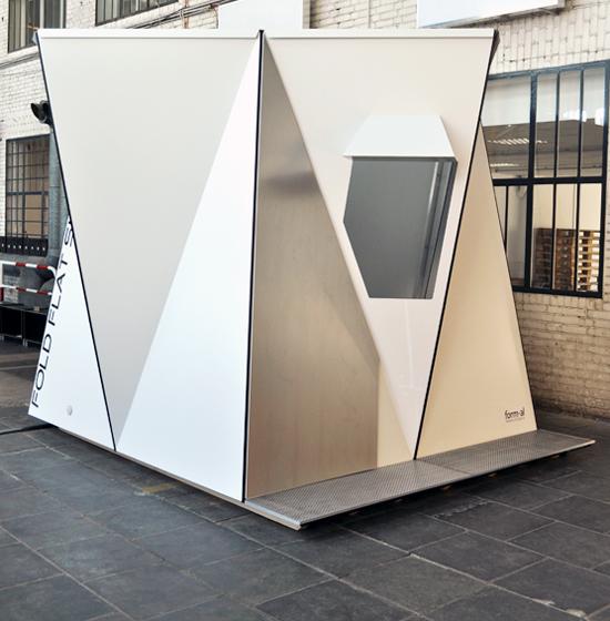 Fold Flat Shelter by Adrian Lippmann