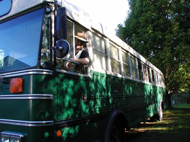 Steampunk Bus