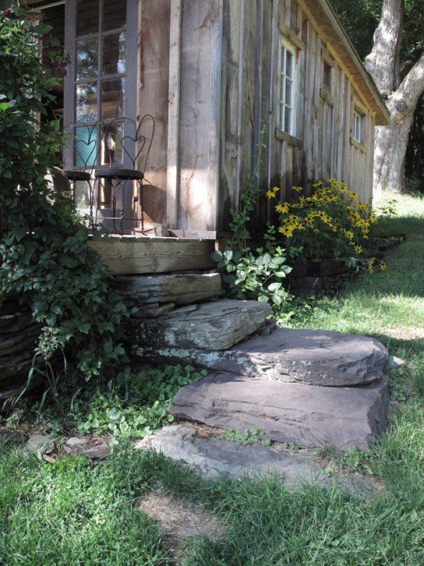 Kim and Jonny's Cabin in the Catskills - Stone Steps