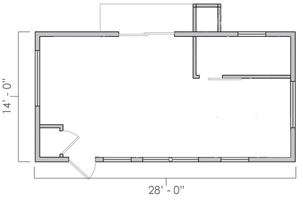 Reclaimed Space Floorplan