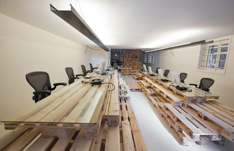 Posh Pallet Office Furniture