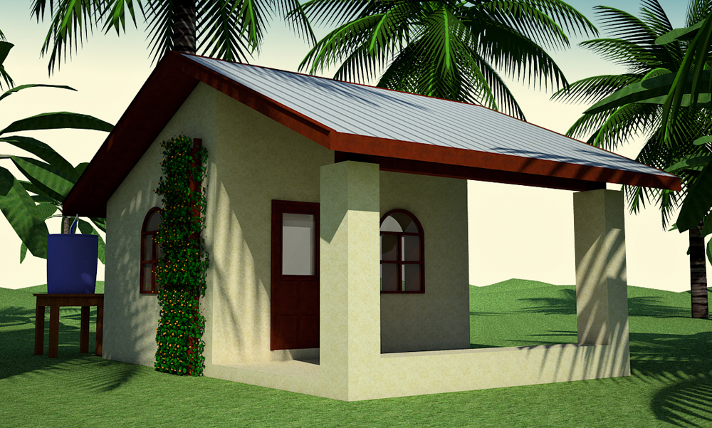 $300 Earthbag House