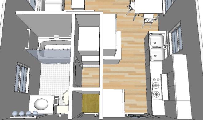16x20 Cabin Layout