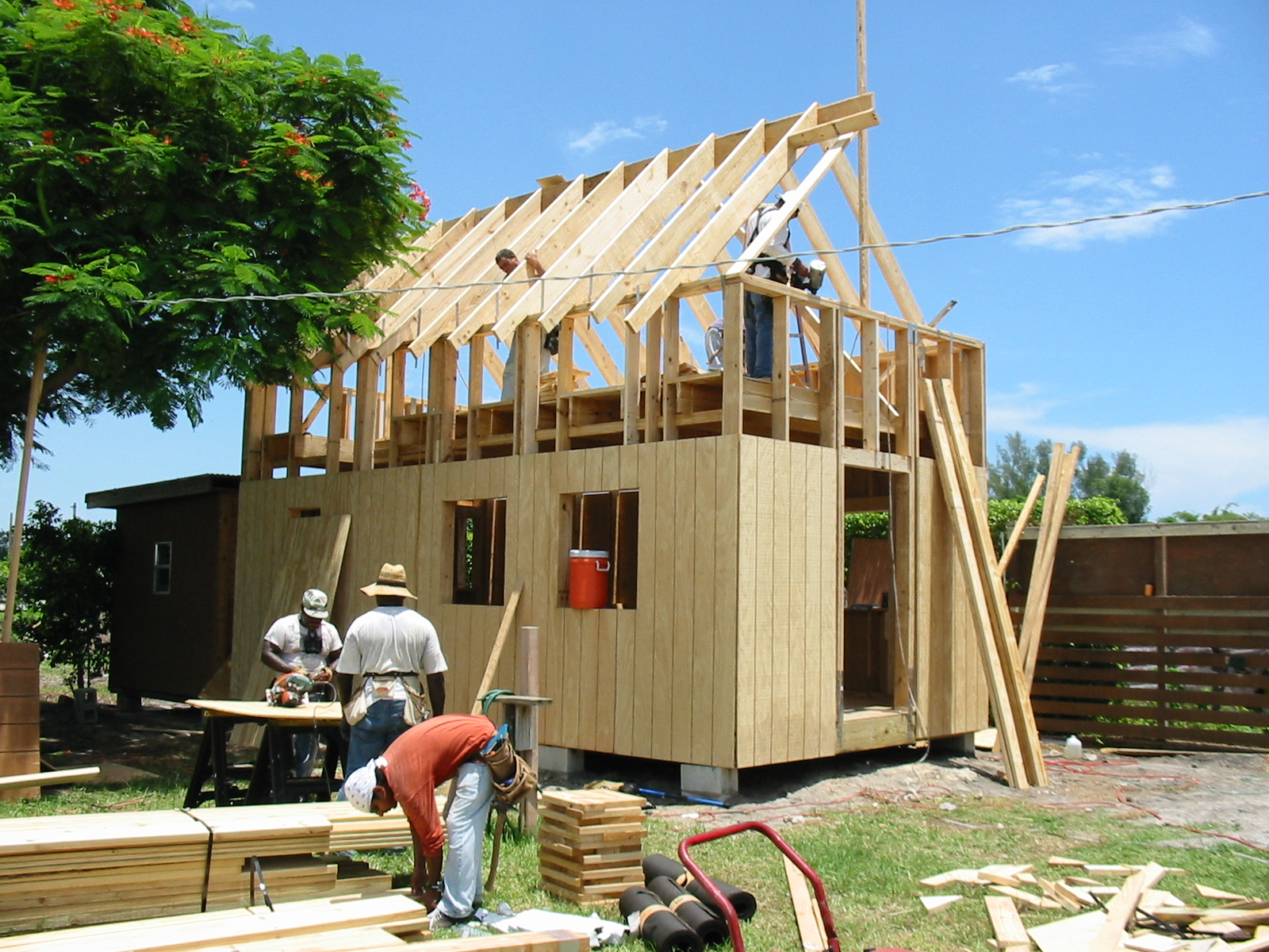 Keith is Building the 12x24 Homesteader's Cabin ...
