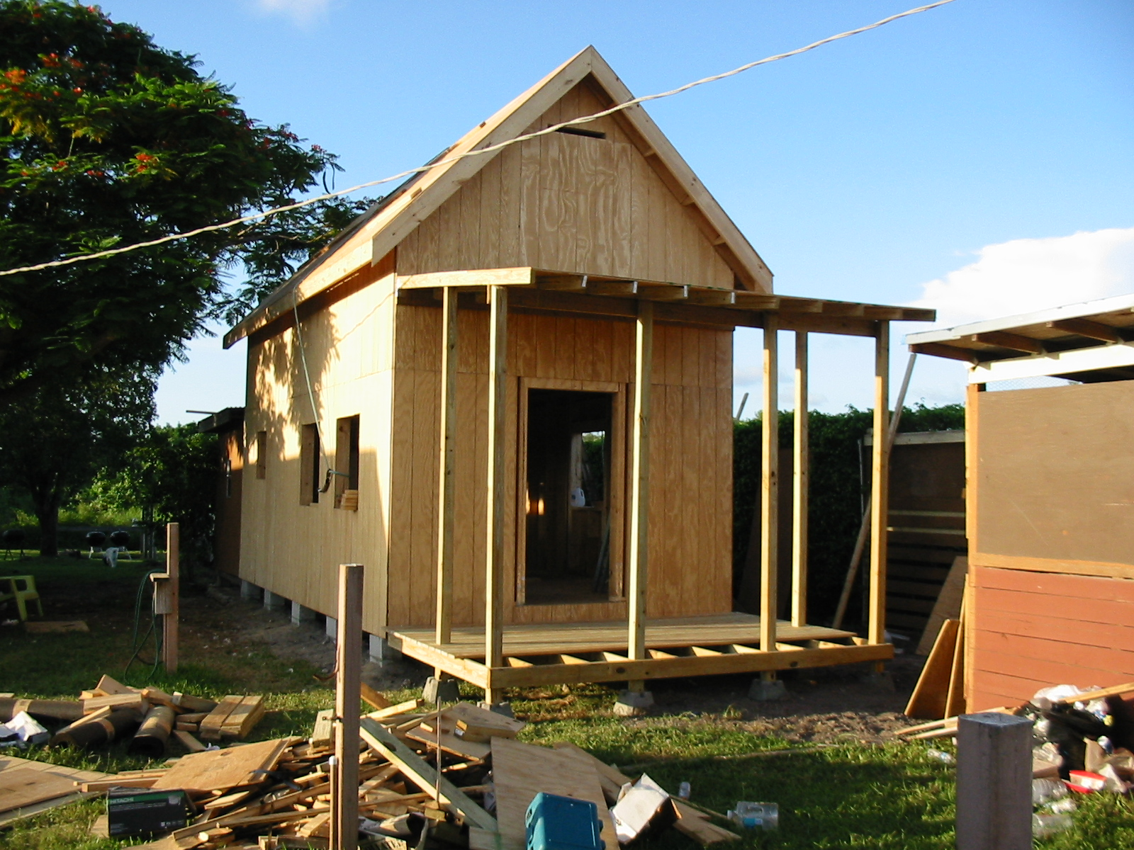 Tiny Home Plans Designs: Keith Is Building The 12×24 Homesteader's Cabin