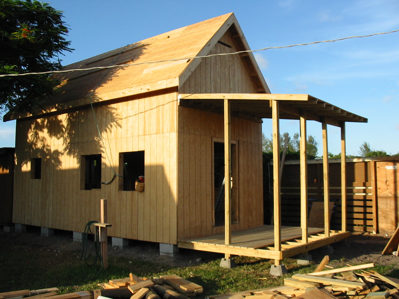 Keith is Building the 12×24 Homesteader's Cabin