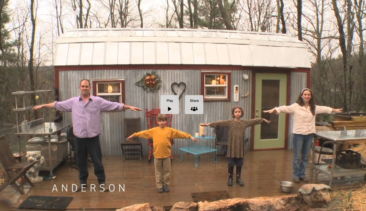 Family Builds a Tiny House for Mortgage Free Future