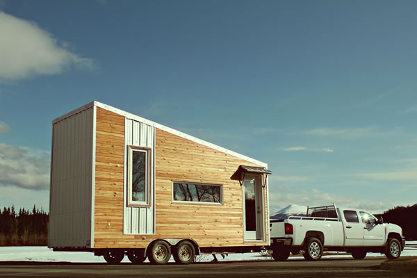 Leaf House – a Tiny House in the Yukon