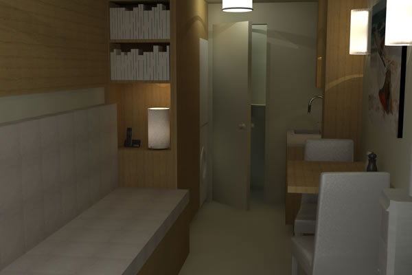 Shipping Container Cabin Concept