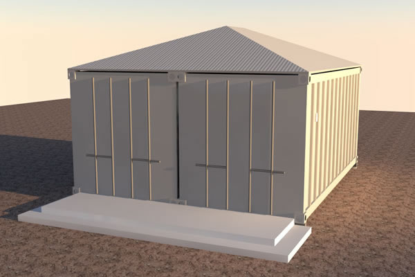 Shipping Container Cabin Concept – Part 2