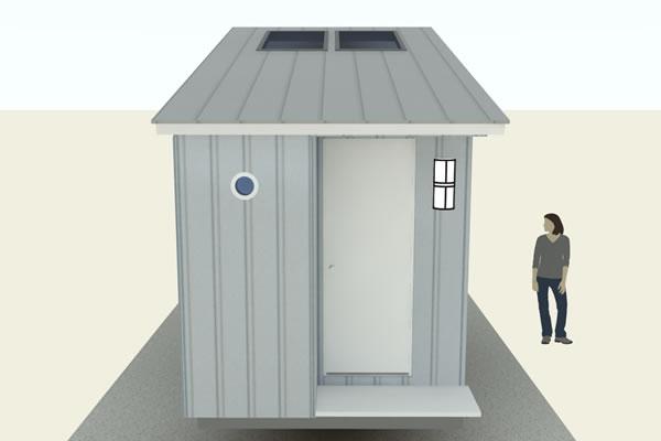 An Aerodynamic Tiny House Design