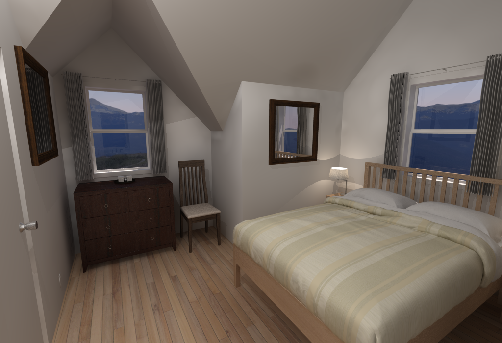 Small House Floor Plans - Bedroom