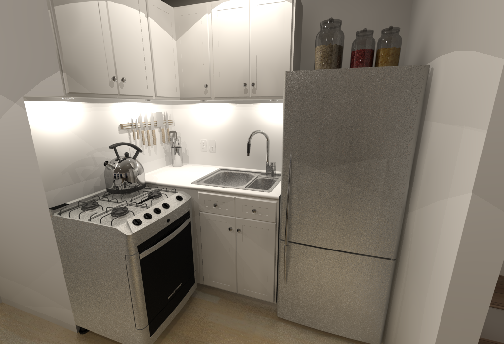 Small House Floor Plans - Kitchen