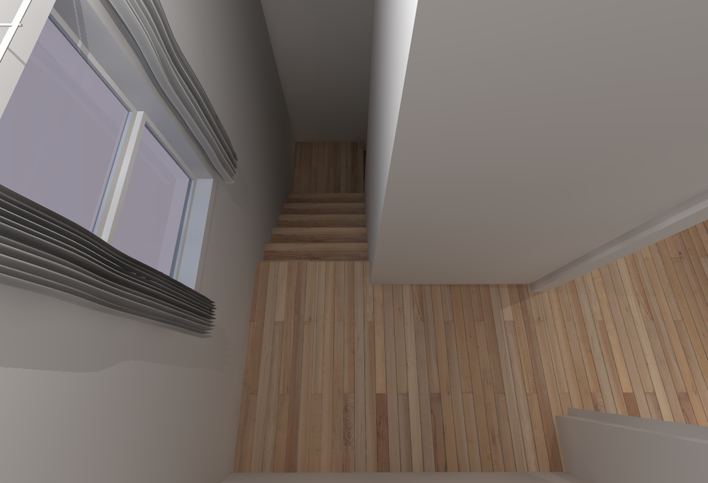 Small House Floor Plans - Stairwell