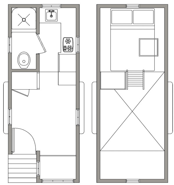 Blue Sky Floor Plan - Open Trail Homes