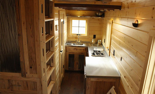 Bunk House Interior - Open Trail Homes