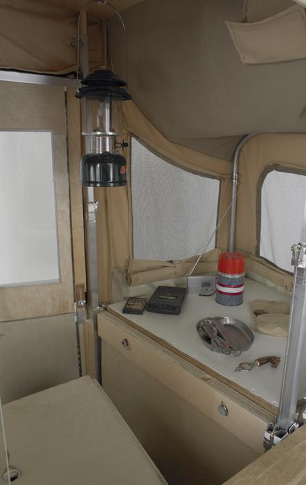 Camper Kart - Counter