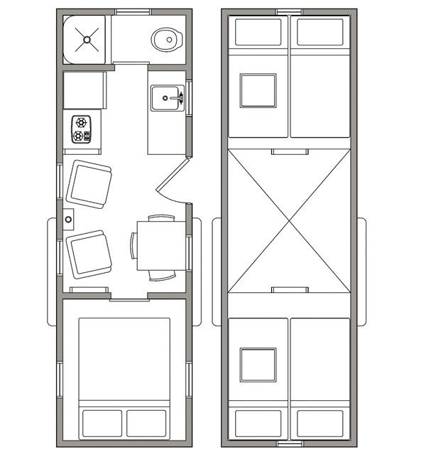 Fieldhouse Floor Plan - Open Trail Homes