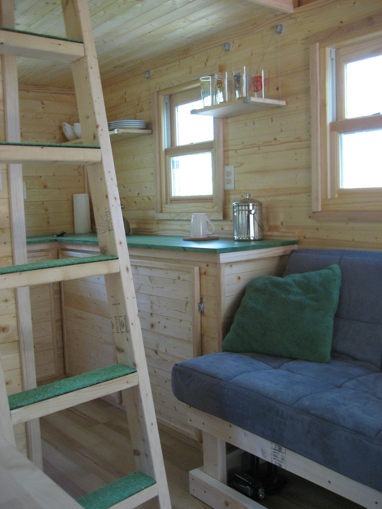 Life In 120 Square Feet Tinyhousedesign