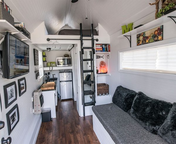Mendy's Tiny House - Interior