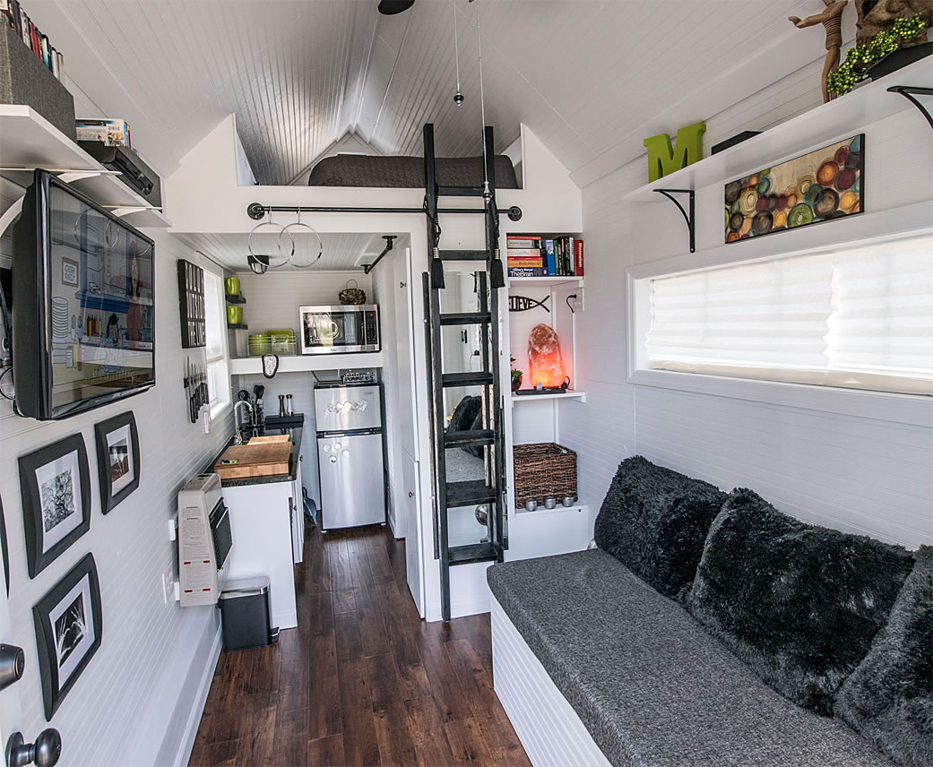 Mendys Tiny House Interior - 37+ Small House Interior Design Pics  Background