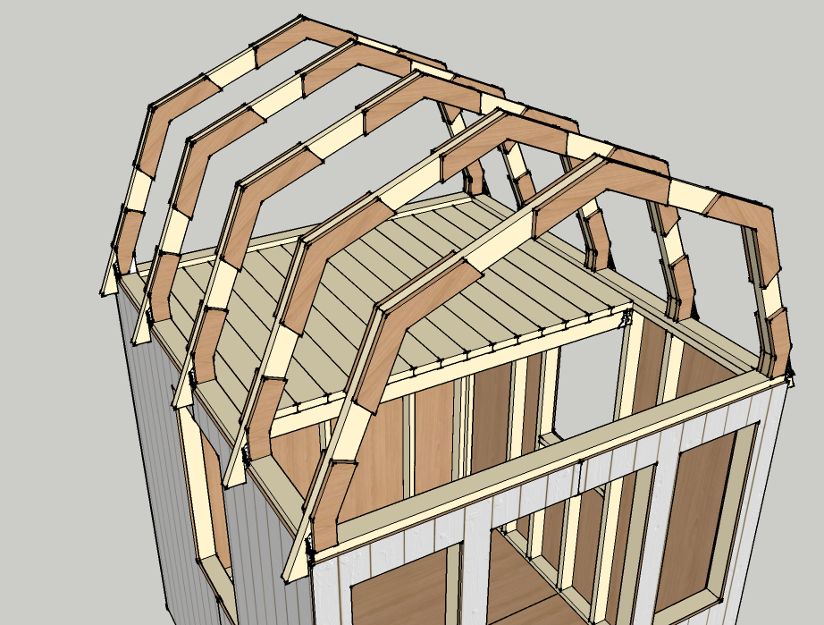 How to Draw a Gambrel Roof in SketchUp